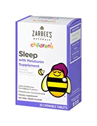 Zarbee\'s Naturals Children\'s Sleep with Melatonin Supplemen...