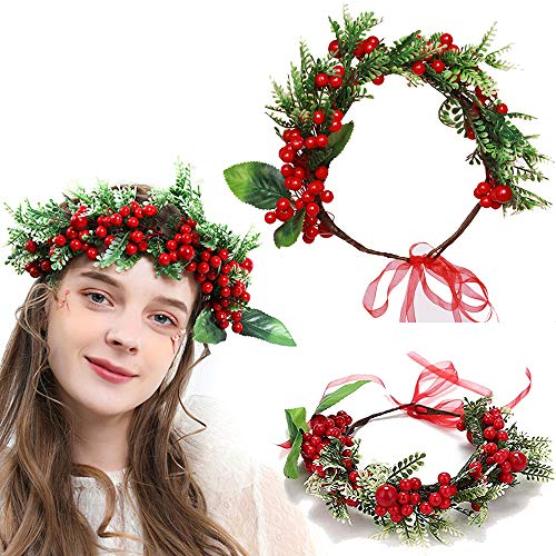 Christmas Flower Crown...