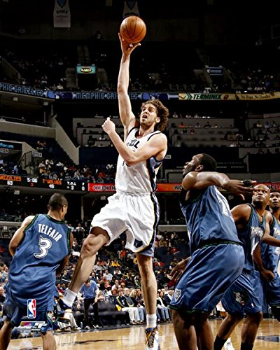 Pau Gasol San Antonio Spurs NBA Action Photo (Size: 16