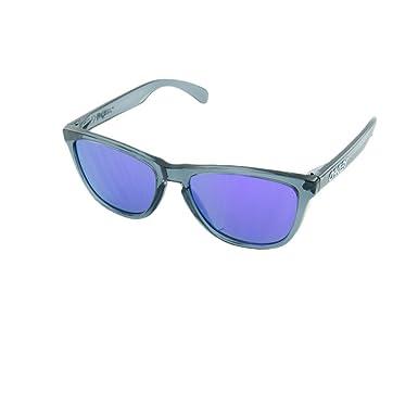 purple oakley sunglasses  Amazon.com: Oakley 03-290 Frogskins Sunglasses-Crystal Black ...