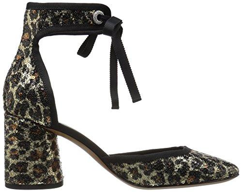 Marc Jacobs Women's Elle Ankle Strap Dress Pump Gold/Multi D4tEC