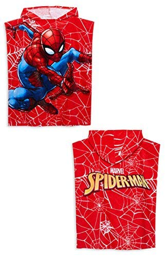 fantastic savings highly coveted range of nice shoes Primark Marvel Kids Batman Spider-man bath towel Poncho ...