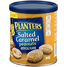 Planters Seasoned Peanuts, 6 oz Cans (Pack of 6): Salted Caramel