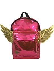 Kids Backpack Fashion Woman Mini Backpack Lady Purse Toddler Daypack Angel Wings