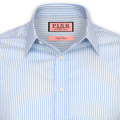 thomas-pink-super-galway-slim-fit-mens-dress-shirt-white-navy-pale-blue-size-16