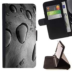 Momo Phone Case / Flip Funda de Cuero Case Cover - Gris Nature frais Printemps - Sony Xperia Z5 Compact Z5 Mini (Not for Normal Z5)