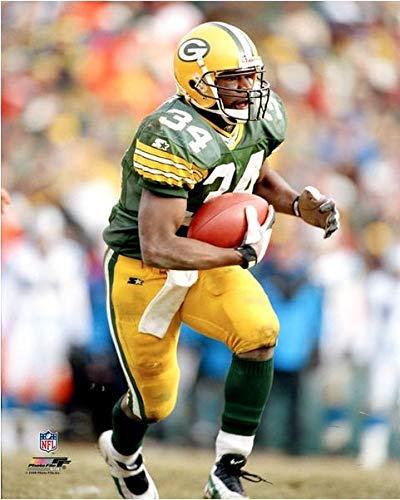 Edgar Bennett Green Bay Packers Action Photo (Size: 16