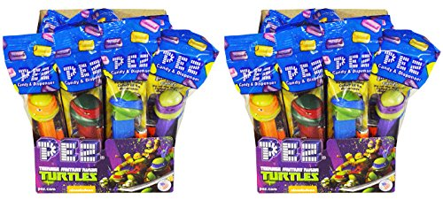Pez Teenage Mutant Ninja Turtles TMNT Candy Dispenser Party Favors Pack of 24 (Teenage Mutant Ninja Turtles Party Favors)