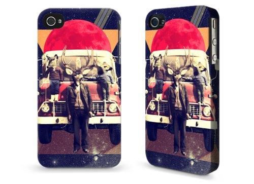 """Hülle / Case / Cover für iPhone 4 und 4s - """"El Camion"""" by Ali Gulec"""