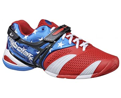 BABOLAT PROPULSE III ALL COURT M Limited tennis shoes blue red 23bb4f37885