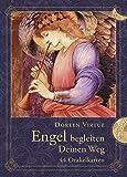Engel begleiten deinen Weg - 44 Orakelkarten: 44 Orakelkarten mit Begleitbuch
