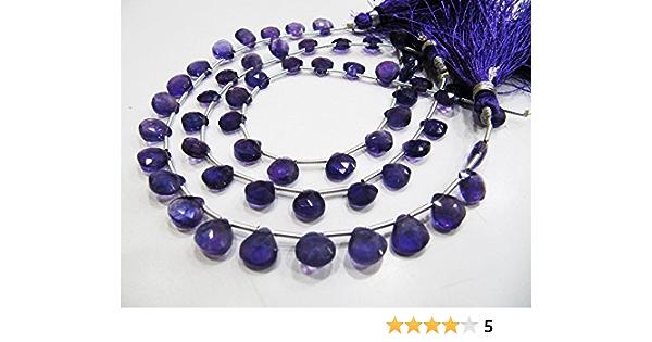 Unakite Gemstone Beads, Semi Precious 5x5-10x10mm 7Strand Natural Unakite Faceted Briolette Heart Shape Beads