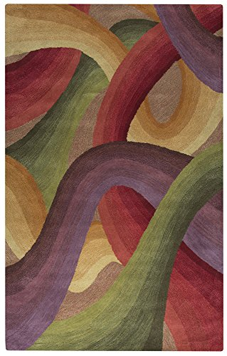 (Rizzy Home Colors Collection COLCL166800700810 Hand Tufted Area Rug, 8' x 10', Multicolor)