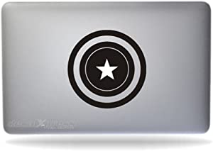 Captain America - Sticker Decal MacBook, Air, Pro All Models