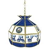 United States Navy Tiffany Gameroom Lamp, 16''