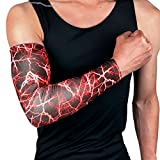 Slendima High-elastic Arm Sleeves Elbow Support Protector,Sun UV Protection Cover Pads - 4 Colors and 3 Sizes