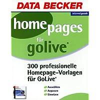 300 Homepages für Adobe GoLive. CD- ROM
