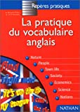 Amazon.fr - Le vocabulaire anglais - Glynis Thoiron
