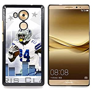 - 24 Football Player/ Hard Snap On Cell Phone Case Cover - Cao - For Huawei Mate 8
