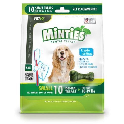 Vetiq Mintie Dental Bone Sm 6z,Petiq,9200000200