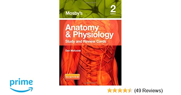 Mosby\'s Anatomy & Physiology Study and Review Cards: 9780323187251 ...