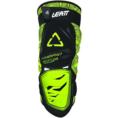 Leatt 3DF Hybrid Knee Guard (Black/Lime, Small/Medium)