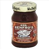 Mrs Renfros Medium Hot Chipotle Barbecue Sauce, 16 Fluid Ounce - 6 per case.
