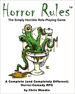 Book Horror Rules, the Simply Horrible Roleplaying Game
