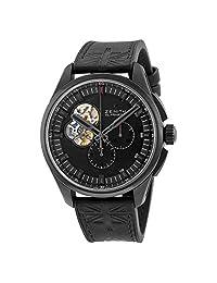 Zenith El Primero Chronomaster Black Dial Titanium Automatic Mens Watch 962260406121R575