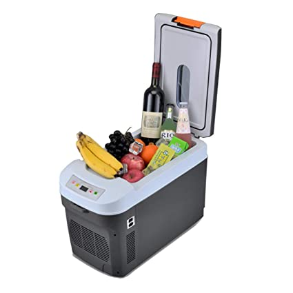 MENUDOWN Car Fridge Electric Cool Box Freezer 12V 24V 220V