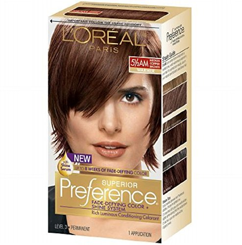Amber LOreal Preference Medium Copper