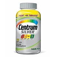 Centrum Silver Adult Multivitamin/Multimineral Supplement Tablet, Vitamin D3, Age...