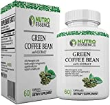Green Coffee Bean Extract 100% Pure Extracts Capsules with 45% Chlorogenic acid - Effective Supplement for Weight Loss, Antioxidants, Fat Burner and Appetite Suppressant for Men & Women