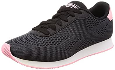 Reebok Royal Cl Jog 2PX, Zapatillas de Deporte para Mujer, Negro (Black/Ash Grey/Squad Pink/White 000), 40.5 EU