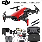 DJI Mavic Air Drone Quadcopter (Flame Red) Everything You Need Essential Bundle