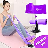 Risefit Sit-up Bar with Resistance Band,Leg, Arm