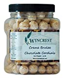 Creme Brulee Chocolate Cordials - 1.5 Lb Tub