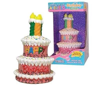 Amazoncom Dancing Singing Animated Birthday Cake Cake Stands