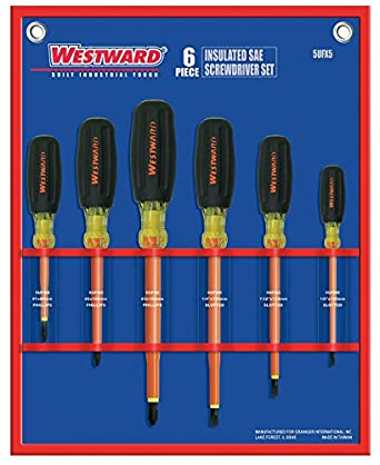 Amazon.com: Westward 5ufx5 Insulated Combo Destornillador ...