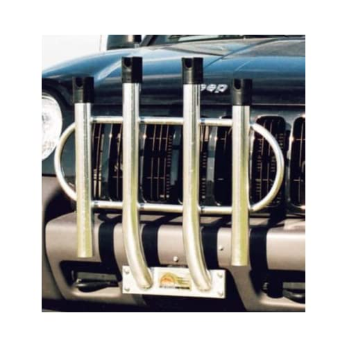 Image of Fishing Angler's Fish-n-Mate Bumper Mount 4 Rod Rack Holder