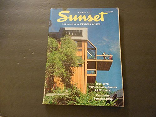 Sunset Mag Of Western Living Oct 1971 Out Of The Pumpkin Soup