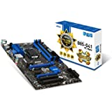 MSI B85-G41-PCMate ATX Motherboard (Intel B85, 4x DDR3, DVI, HDMI, 4x USB3.0, GBE LAN, LGA1150 Socket)