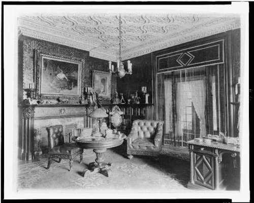 Photo: Home of Edmund Cogswell Converse, Greenwich, Connecticut, CT, 1908, Interior, 4 . Size: - In Ct Stores Greenwich