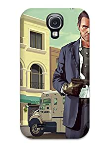 New Style Case Cover Protector For Galaxy S4 Grand Theft Auto V Case