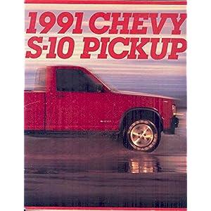 1991 Chevrolet S10 Pickup Truck Brochure