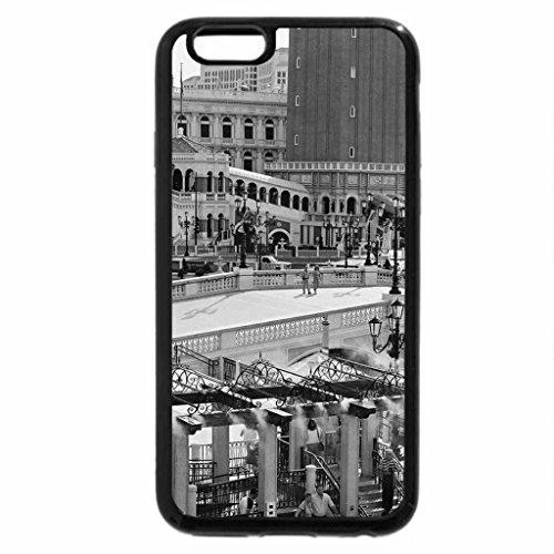 iPhone 6S Plus Case, iPhone 6 Plus Case (Black & White) - Venetian Hotel