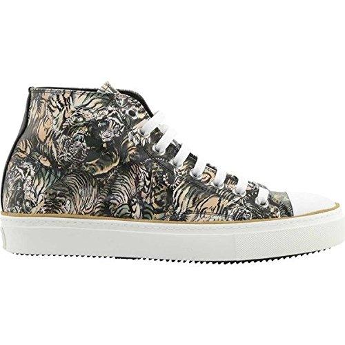 [ロベルトカヴァリ] メンズ スニーカー Mike High Top Sneaker [並行輸入品] B07DHN8H5B