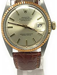 Datejust swiss-automatic mens Watch 1601 (Certified Pre-owned)