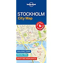 Lonely Planet Stockholm City Map 1st Ed.