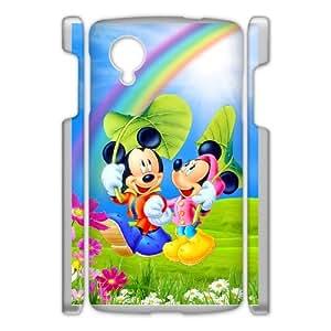 Google Nexus 5 Phone Case for Classic theme Disney Mickey Mouse Minnie Mouse cartoon pattern design GDMKMM939238